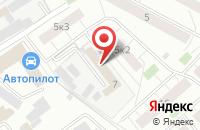 Схема проезда до компании Фабрика Резиновых Покрытий «Мастерфайбр» в Химках