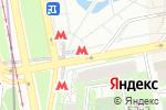 Схема проезда до компании Центр прессы в Москве