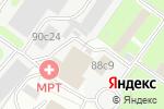 Схема проезда до компании Ренессанс в Москве