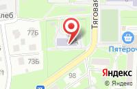 Схема проезда до компании Золушка в Серпухове