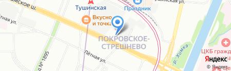 Добрые пироги на карте Москвы