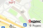 Схема проезда до компании Вианор в Москве