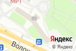 Схема проезда до компании ЮРГАНАР в Москве