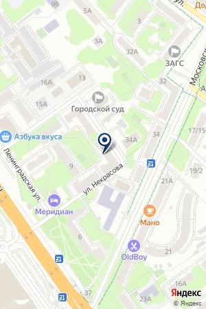 ЖКХ ИНЖСЕРВИС на карте Химок