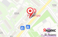 Схема проезда до компании Почта Банк в Серпухове