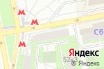 Схема проезда до компании ОранжСанТур в Москве