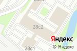 Схема проезда до компании Дювикс в Москве