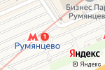 Схема проезда до компании VIPSATIN.RU в Москве