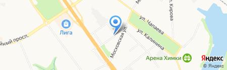 Магазин противопожарного оборудования на карте Химок
