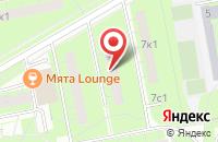 Схема проезда до компании Авант в Москве