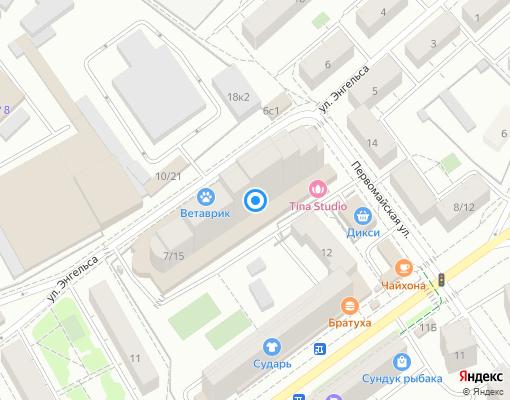 Товарищество собственников жилья «Содружество» на карте Химок