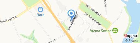 ИМЭО на карте Химок