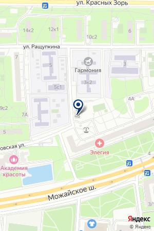 A-MOTORS на карте Можайска