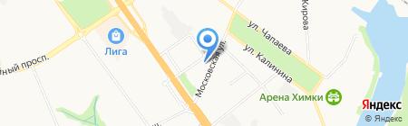 Содействие на карте Химок