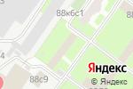 Схема проезда до компании Военные знания в Москве