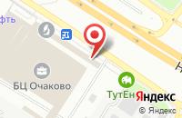 Схема проезда до компании Рекламное Агентство «Очаково» в Москве
