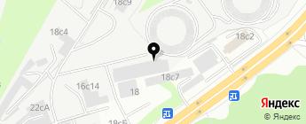 SJS Россия на карте Москвы