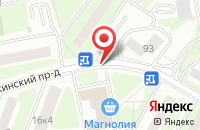 Схема проезда до компании Авангар в Москве