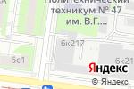 Схема проезда до компании Раскрасить.ру в Москве