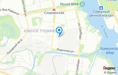 Местоположение на карте пункта техосмотра по адресу г Москва, ул Новопоселковая, д 11 стр 1