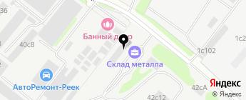 Санрайс Авто на карте Москвы