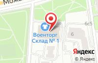 Схема проезда до компании MachineStore в Часцах