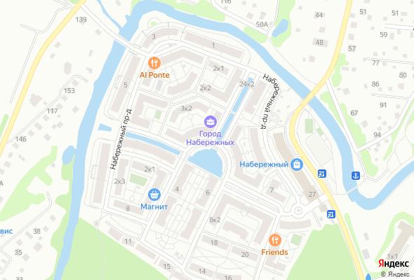 жилой комплекс Город набережных