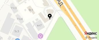 Major Volvo на карте Москвы