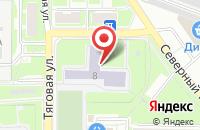 Схема проезда до компании Средняя общеобразовательная школа №13 в Серпухове