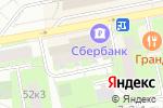 Схема проезда до компании Бинбанк в Москве