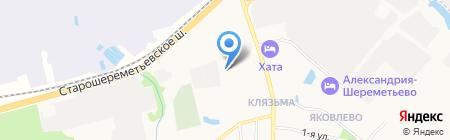 Midland Sheremetyevo на карте Химок