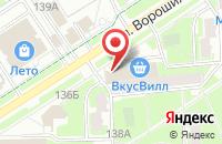 Схема проезда до компании Партнер-Инвест в Серпухове
