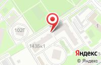 Схема проезда до компании Шантель в Серпухове