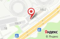 Схема проезда до компании Услуга-Сервис в Москве