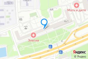 Сдается комната в трехкомнатной квартире в Москве Можайское ш., 4к1
