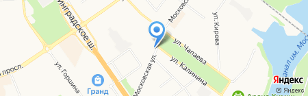 Яшма на карте Химок
