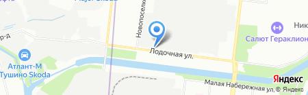 Первая патронажная на карте Москвы