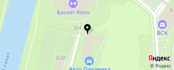 Категория А на карте Москвы