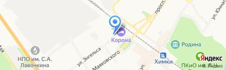 Московское областное БТИ на карте Химок