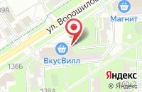 Схема проезда до компании У Палыча в Серпухове
