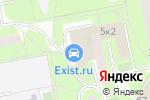 Схема проезда до компании Post-Аудит в Москве