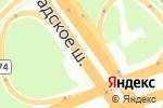 Схема проезда до компании Clarks в Москве