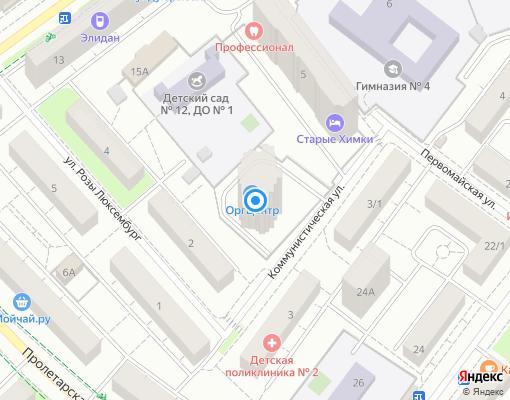 Товарищество собственников жилья «Корвет» на карте Химок
