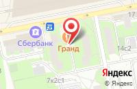 Схема проезда до компании Бутик Рекламы в Москве