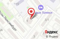 Схема проезда до компании Центр Научно-Технической Информации «Поиск» в Химках