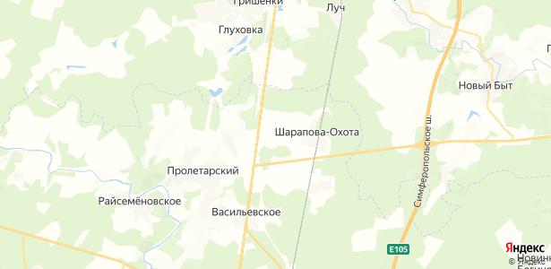 Рыжиково на карте