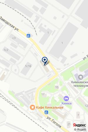 ПТФ РАДОНЕЖ-М на карте Химок