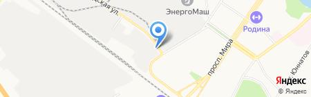 Виар на карте Химок