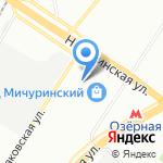 Дельфин на карте Москвы