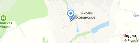 Вяземское на карте Москвы